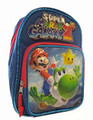 Super Mario Galaxy 2 Toddler Small Blue/Red Backpack