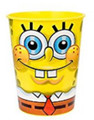 12X Spongebob Squarepants Plastic 16 oz Reusable Keepsake Favor Cup ( 12 Cups )