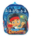 "Jake and the Neverland Pirates Small Toddler 12"" Kids Backpack"