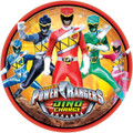 Power Rangers Dino Charge Large 9 Inch Lunch Plates