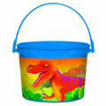 Dinosaurs Plastic Favor Bucket Container ( 1pc )