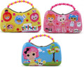LaLaLoopsy Carry All Tin Scoop Purse with Beaded Handle (Chosen Randomly)