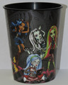 Monster High Black Plastic 16 oz Reusable Keepsake Souvenir Favor Cup (1 Cup)