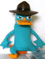 Phineas & Ferb Gabble Head Plush- Agent P