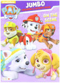 Paw Patrol Jumbo 96 pg. Coloring And Activity Book - On The Scene