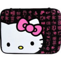 "Hello Kitty 16"" Weather Resistant Laptop Sleeve Cover Case - Black"
