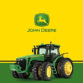 John Deere Printed Plastic Tablecover Table Cover