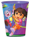 12X Dora the Explorer Plastic 16 Ounce Reusable Keepsake Favor Cup ( 12 Cups )