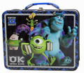 Monsters University Mike & Sully Square Tin Stationery Small Lunch Box - Oozma