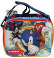 Sonic The Hedgehog Cloth Insulated Fabric Lunch Box Container - Shadow Knuckles