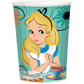12X Alice In Wonderland Plastic 16 Ounce Reusable Keepsake Favor Cup  ( 12 Cups )