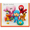 Pocoyo Pack of 8 Invitations