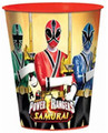 12X Power Rangers Samurai Plastic 16 Ounce Reusable Keepsake Favor Cup 12 Cups