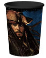 12X Pirates of the Caribbean Plastic 16oz Reusable Keepsake Favor Cup (12 Cups)