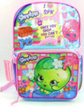 Shopkins Large 16 Inch Backpack with Lunchbox - Apple