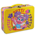 Abby Cadabby Square Carry All Lunchbox Lunch Box Tin Box - Tutti Frutti