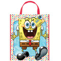 Spongebob Squarepants Plastic Party Tote Bag