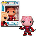 Funko Pop! Marvel Deadpool (Red Suit/Unmasked) Bobble-Head PX Previews Ex. #29