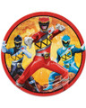 Power Rangers Dino Charge Small 7 Inch Party Cake Dessert Plates