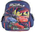 Cars Small Toddler Cloth Backpack Book Bag Pack - Blue