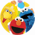 Sesame Street Large 9 Inch Lunch Dinner Plates - Party