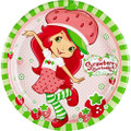 Strawberry Shortcake 8 Inch Large Round Lunch Dinner Plates