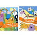 Adventure Time Party Invitations With Thank You Cards