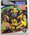 Transformers Jumbo Coloring and Activity Book - Bumblebee Green