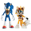 Sonic Boom 2 Pack Plastic Figures - Sonic And Tails