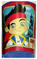 12X Jake and the Neverland Pirates Blue Plastic 16 Ounce Reusable Keepsake Favor Cup ( 12 Cups )