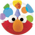 Sesame Street Elmo's Party Small 7 Inch Party Cake Dessert Plates