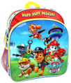"Paw Patrol Large 14"" Cloth Backpack Book Bag Pack - ""Ruff Ruff Rescue"""