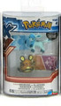 "Pokemon 2-Pk Small 2"" Toy Plastic Action Figure - Dedenne vs. Glaceon"