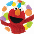 Sesame Street Elmo's Party Large 9 Inch Lunch Dinner Plates