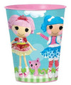 12X Lalaloopsy Plastic 16 Ounce Reusable Keepsake Favor Cup ( 12 Cups )