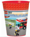 LEGO City Plastic 16 Ounce Reusable Keepsake Favor Cup (1 Cup)