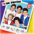 One Direction 1D Large Lunch Dinner Square Plates Party Zayn Harry Niall Liam