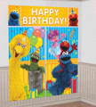 Sesame Street 2 Scene Setter Decoration Kit