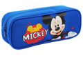 Mickey Mouse Plastic Pencil Case - Blue