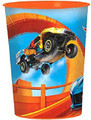 12X Hot Wheels Wild Racer Plastic 16 oz Reusable Keepsake Favor Cup ( 12 Cups )