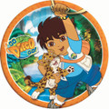 Diego Large 9 Inch Round Lunch Dinner Plates