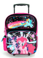 "My Little Pony Large 16"" Cloth Backpack With Wheels - ""Magical Journey"""