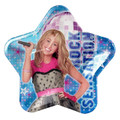 Hannah Montana 9 Inch Large Star Lunch Dinner Plates