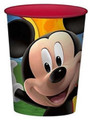 12X Mickey Mouse Clubhouse Faces Plastic 16 Ounce Reusable Keepsake Favor Cup ( 12 Cups )