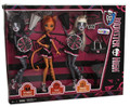 Monster High Pack of 3 Plastic Dolls and Accessories - Cheerleaders