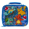 Pokemon Cloth Lunch Box - Pikachu, Squirtle, Bulbasaur and Charmander