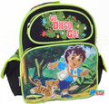 "Diego Small Toddler 12"" Cloth Backpack Book Bag Pack"