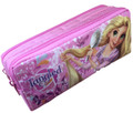 Tangled Rapunzel Pencil Case Pencil Box - Double Zipper Pink