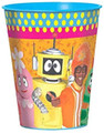 12X Yo Gabba Gabba Plastic 16 Ounce Reusable Keepsake Favor Cup ( 12 Cups )