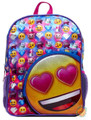 Emoji 16 Inch Large Backpack - Emoji Love